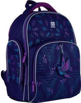 Рюкзак Kite Education для дівчаток 730 г 36x29x16.5 см 15.5 л Темно-фіолетовий (K21-706S-2)