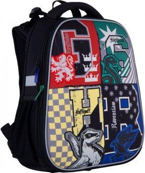 Рюкзак Kite Education Harry Potter каркасний для хлопчиків 1000 г 38х29х16 см 16 л Чорний (HP21-531M)