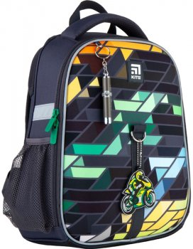 Рюкзак Kite Education каркасний 810 г 35x26x13.5 см 12 л Темно-сірий (K21-555S-2)