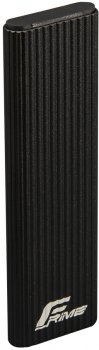 Зовнішня кишеня Frime для M.2 NGFF SATA Metal USB 3.1 (TYPE-C) up to 10 Gb/s Black (FHE210.M2U31)