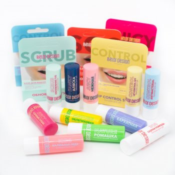 Бальзам для губ BelorDesign Lip control SPF 4 г (4810156045796)