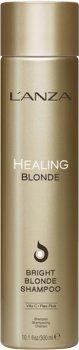 Целебный шампунь Lanza Healing Blonde Bright Shampoo для натуральных и обесцвеченных светлых волос 300 мл (654050421102)
