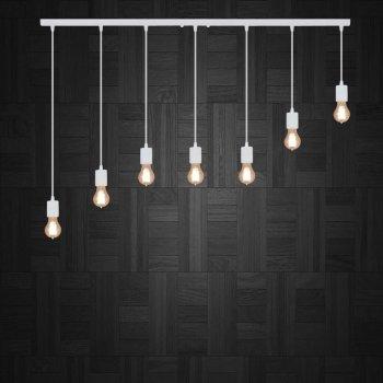 Светильник подвесной на 7-ламп CEILING-7 E27 белый