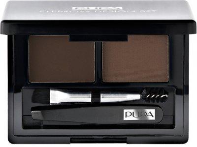 Набір косметики для брів Pupa Eyebrow Set №03 Dark Brown 1.1 г (8011607220397)