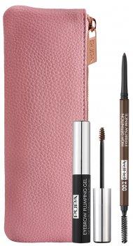 Набор для макияжа бровей Pupa Eyebrow Definition Kit №002 Brown 10 г (8011607332885)