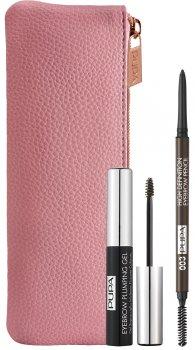 Набір для макіяжу брів Pupa Eyebrow Definition Kit №003 Dark Brown 10 г (8011607332892)