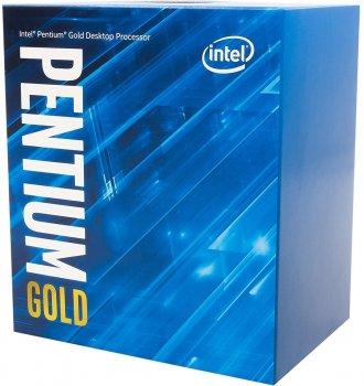 Процесор Intel Pentium Gold G6405 4.1 GHz / 4 MB (BX80701G6405) s1200 BOX