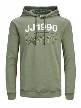 Худі Jack & Jones 12185063-64494 Deep Lichen Green