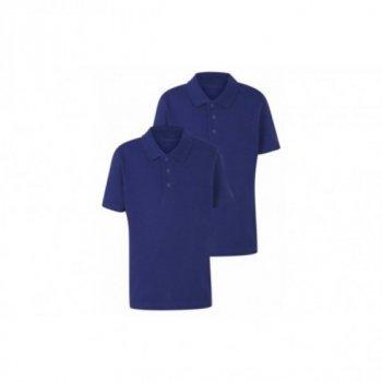 Комплект футболок-поло George для мальчика синий цвет