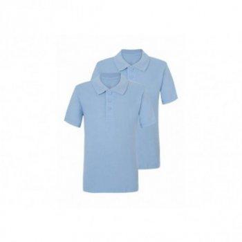 Комплект футболок-поло George для мальчика, голубой цвет