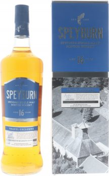 Виски односолодовый Speyburn 16 лет выдержки в подарочной упаковке 1.0 л 43% (5010509881463)