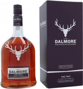 Виски односолодовый The Dalmore Trio 1 л 40% (5013967016279)