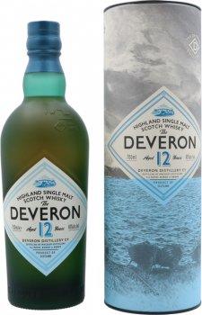 Виски односолодовый The Deveron 12 лет выдержки в подарочной упаковке 0.7 л 40% (5010752001342)