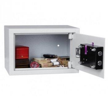 Сейф мебельный Ferocon, модель БС-20К.7035 из стали серый (210811)