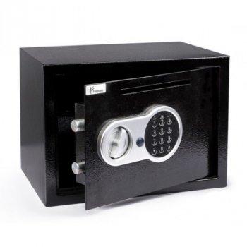 Сейф мебельный Ferocon, модель БС-25Д с 2-х ригельным механизмом из стали черный (322408)