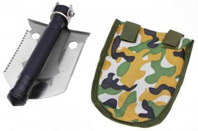 Лопата саперная складная M4W H-138, Чехол, 32 см (t385)