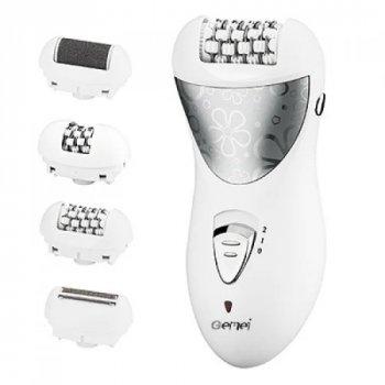 Епілятор, пемза, бритва Gemei GM 3061 4в1 для догляду за всім тілом (t401)