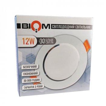 Світильник LED Biom Downlight DF-12W 12Вт білий круглий 5000К