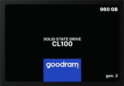 """Goodram CL100 GEN.3 2.5"""" 960GB (SSDPR-CL100-960-G3)"""