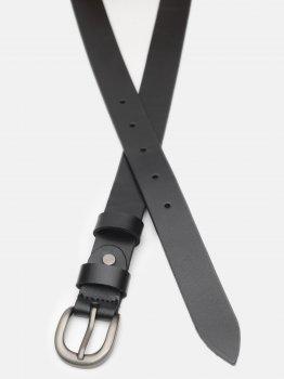 Женский ремень кожаный Laras CV10W34 100 см Черный (ROZ6400030382)