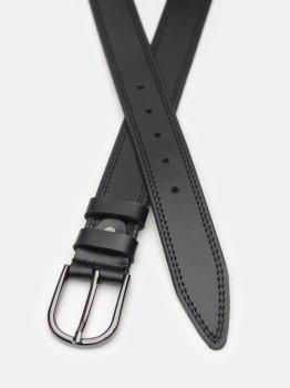 Женский ремень кожаный Laras CV10W47 100 см Черный (ROZ6400030395)