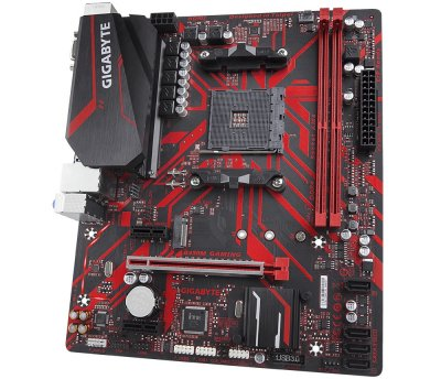 Материнська плата Gigabyte B450M Gaming Socket AM4