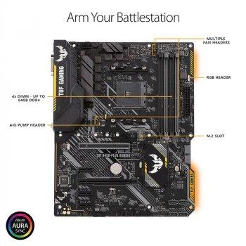 Материнська плата Asus TUF B450-Plus Gaming Socket AM4