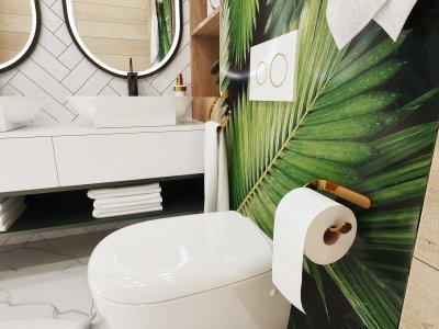 Держатель для туалетной бумаги Bisk NATURE BOX 05912 золото