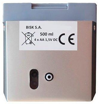 Автоматичний дозатор для мила Bisk AK1 05903 500 мл білий
