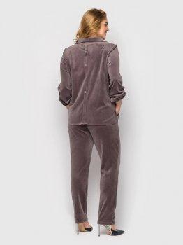 Костюм (кофта + штани) VLAVI Світлана 131102 Моко