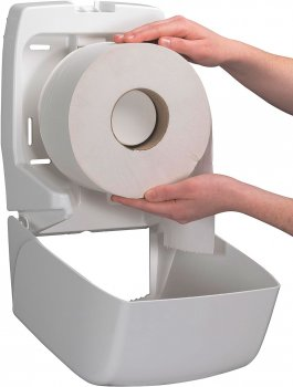 Диспенсер для туалетного паперу KIMBERLY CLARK PROFESSIONAL Aquarius на рулон Mini Jumbo (6958)