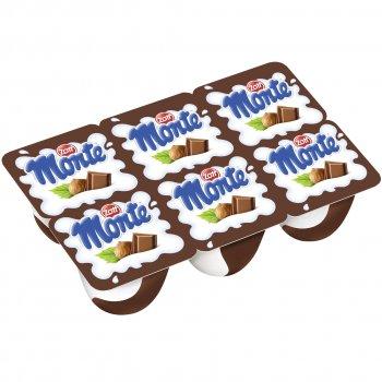 Десерт Zott Монте с шоколадом и орехами, 55 г