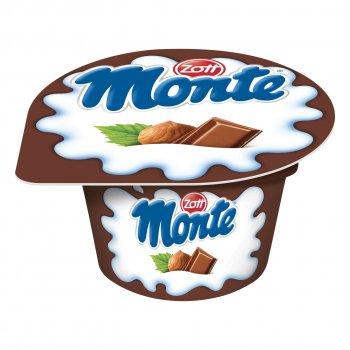 Десерт Zott Монте с шоколадом и орехами, 150 г