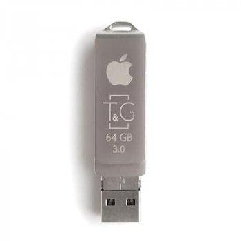 Флеш-накопитель USB3.0 64GB Lightning T&G 004 Metal Series (TG004IOS-64G3)