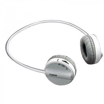 Навушники RAPOO Wireless Stereo Headset gray (H3050)