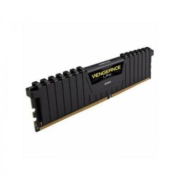 Оперативна пам'ять Corsair DDR4 4GB 2400Mhz Vengeance LPX Black (CMK4GX4M1A2400C16)