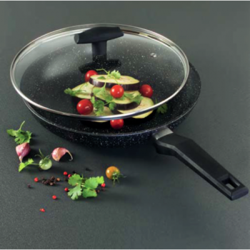 Сковорода Tiross TS-1251P 24 см Black