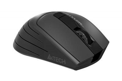 Миша бездротова A4Tech FG30 Black/Grey USB