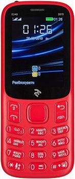 Мобільний телефон 2E E240 2019 Dual Sim Red