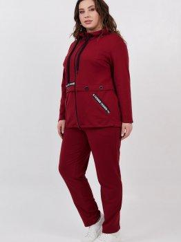 Спортивний костюм All Posa Лорія 100529 Бордовий