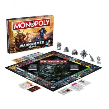 Настільна гра Hasbro Монополія Вархаммер 40000 (Monopoly Warhammer 40000)