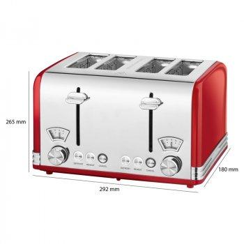Тостер PROFI COOK PC-ТА 1194 Red