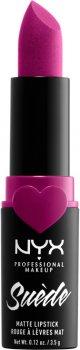 Помада для губ NYX Professional Makeup Suede Matte Lipstick 32 Copenhagen 3.5 г (800897192167)