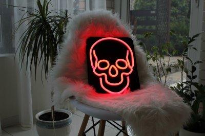 Неоновий світильник Neon Lightning «Череп»