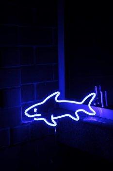 Неоновий світильник Neon Lightning «Акула»