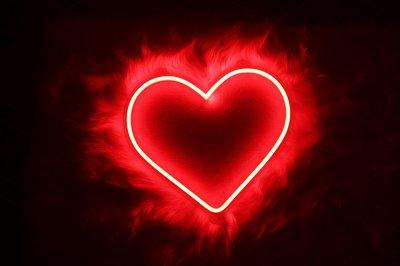 Неоновий світильник Neon Lightning «Серце»