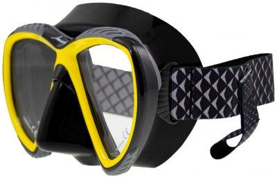 Маска Marlin Accent Yellow/Black (016271)