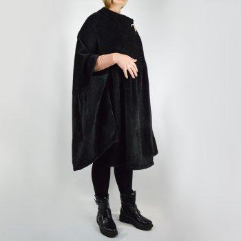 Пальто Motel W19K092B вільний крій без рукавів чорне