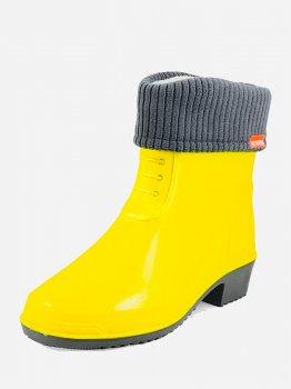 Резиновые сапоги Alisa Line А203 Желтые