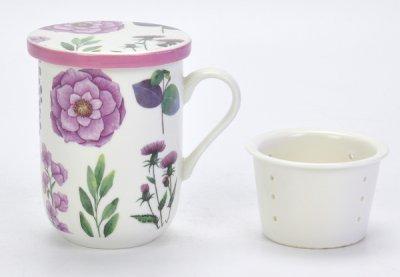 Чашка с фильтром Limited Edition Piony 330 мл (B1560-09709-2)